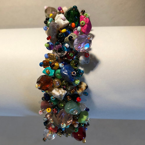 Confetti Bead Bracelet