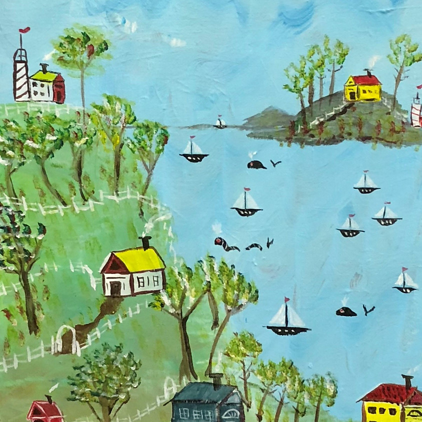 FOLK ART PAINTING with Michael Giaquinto (1)