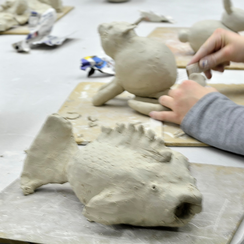 Clay Sculpture with Jeremiah Nickerson