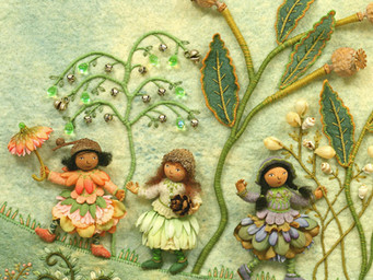 Once Upon A Stitch An exhibition by Salley Mavor for all ages