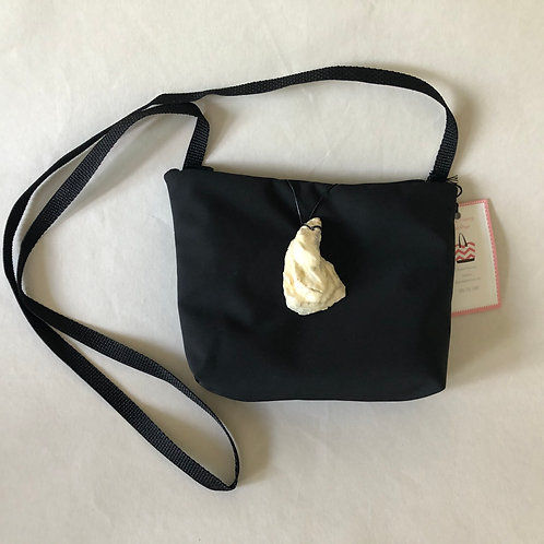 Cross Body Oyster Shell Bag