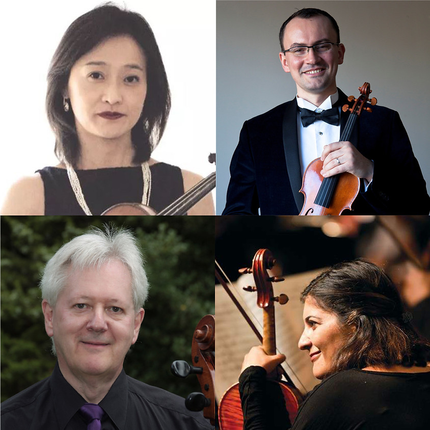 Cape Cod String Quartet in Concert - Performers Guests