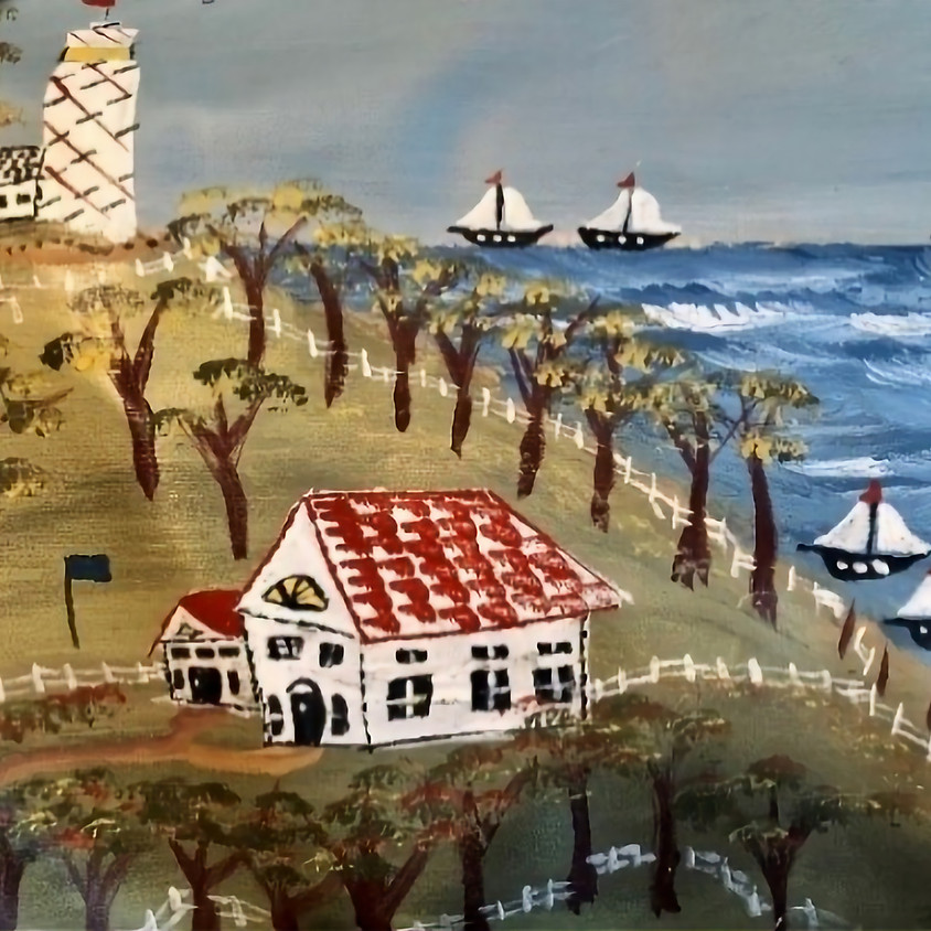 FOLK ART PAINTING with Michael Giaquinto - November