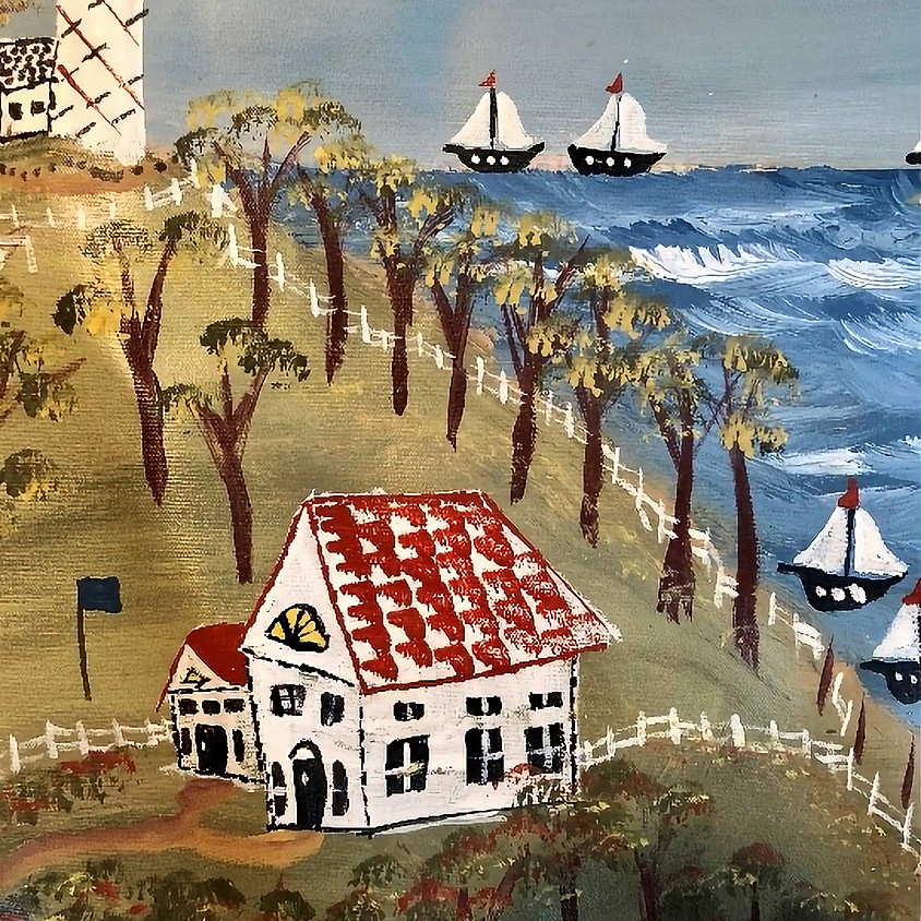 FOLK ART PAINTING with Michael Giaquinto