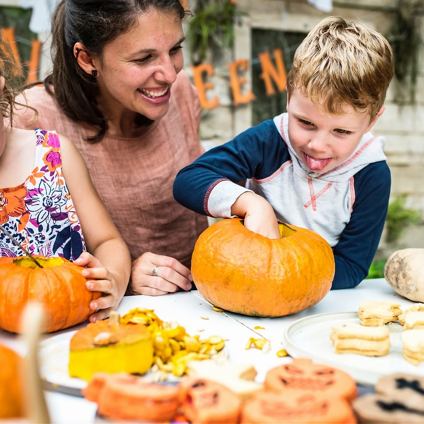 Pumpkin Carving for Everyone! Bring your own Pumpkin, or RSVP to reserve one or more.
