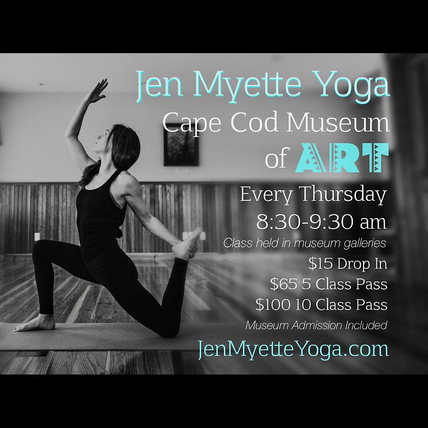 Yoga Every Thursday! - Vinyasa Flow with Jen Myette - October 31
