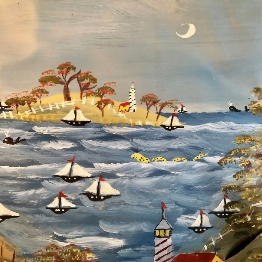 FOLK ART PAINTING with Michael Giaquinto - December