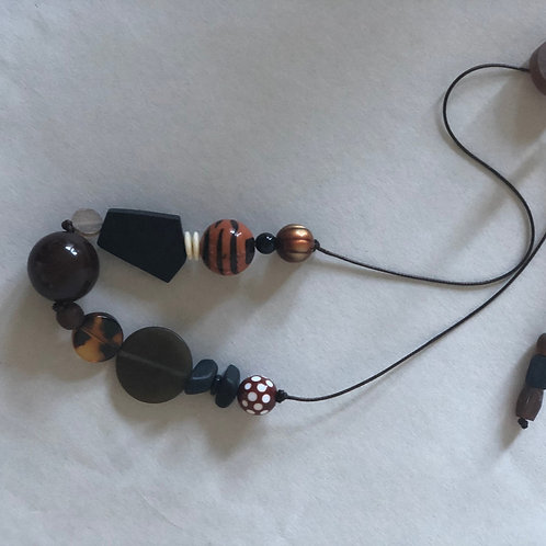 Resin Funky Necklace