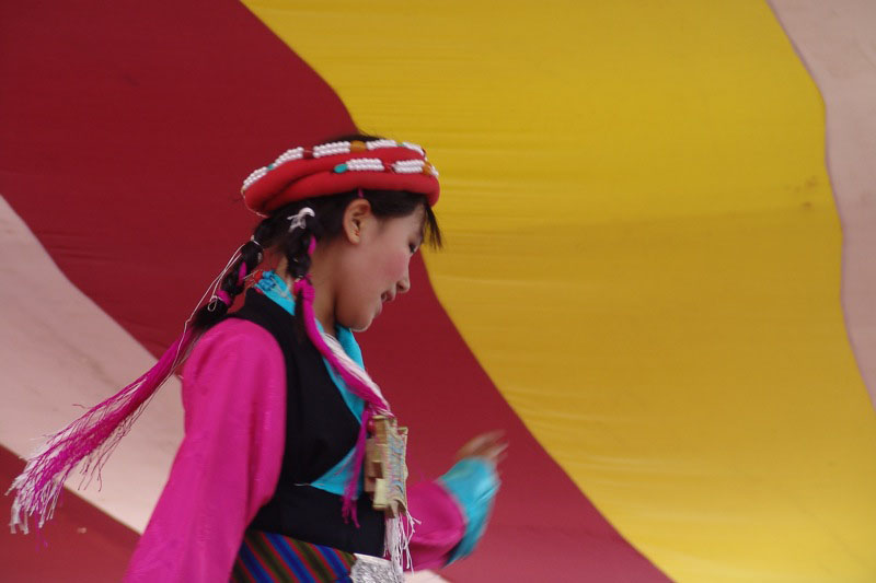 Tibetan Dancer cr