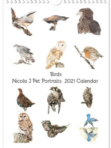 Bird  2021 Calendar  SOLD OUT