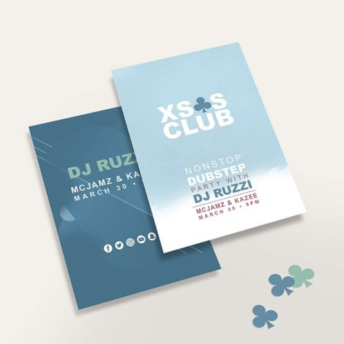 Letter Size (8.5x11) Flyer Double Sided 100lb