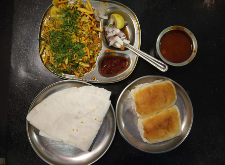 Nilkanth Misal Pav near Badlapur Station