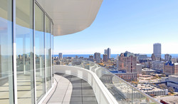View of Milwaukee from the Moderne