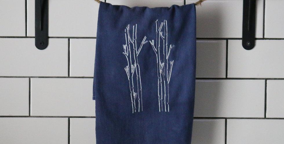 Winter Trees Tea Towel