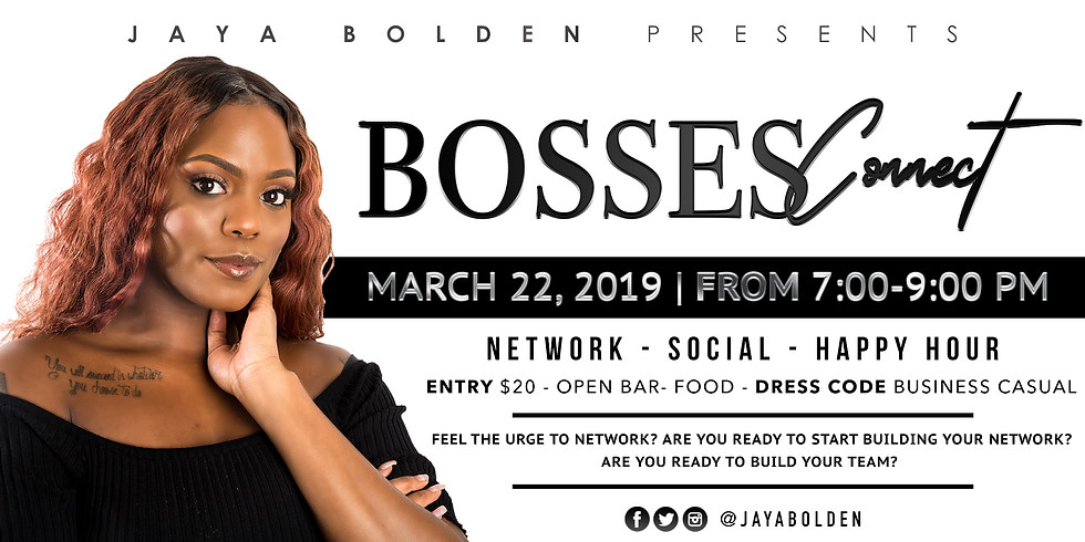 Bosses Connect Happy Hour
