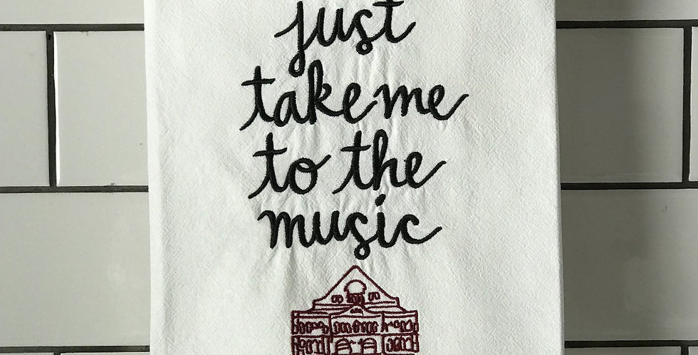 Just Take Me To The Music
