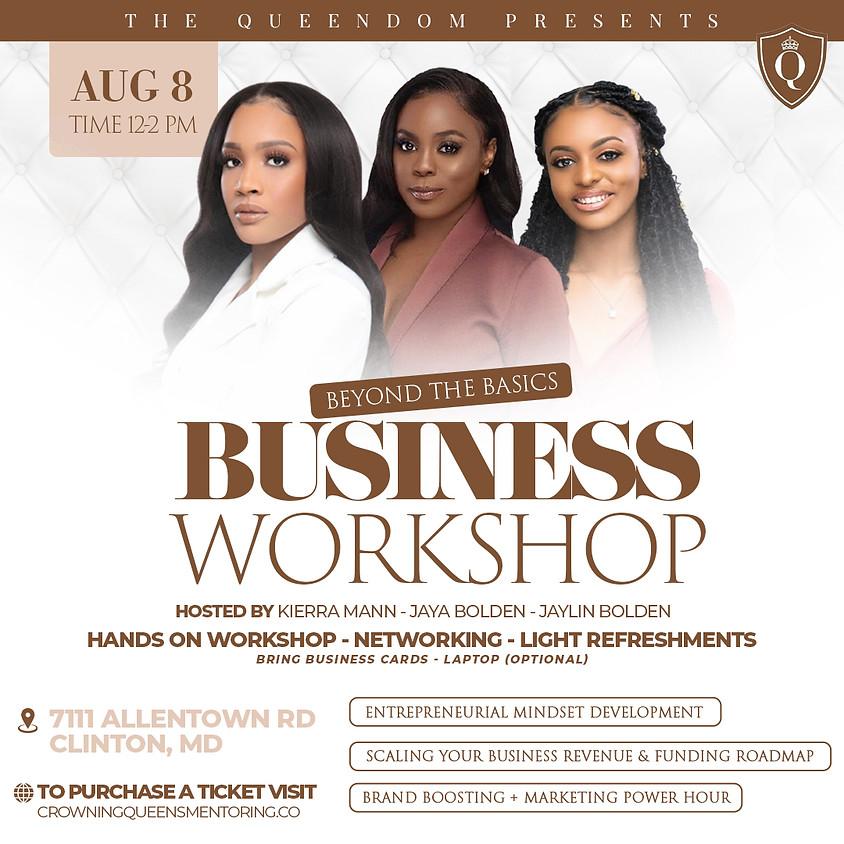 Beyond The Basics Business Workshop