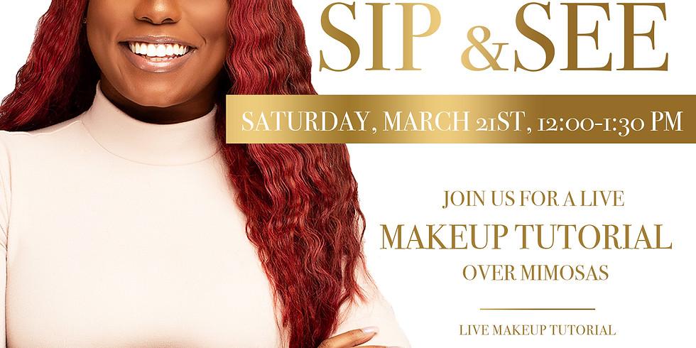Sip & See Makeup Class