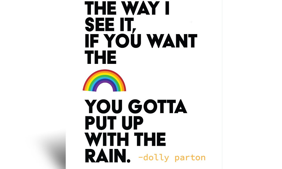 Dolly Parton Quote 5x7 Greeting Card