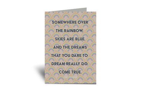 Rainbow Fertility 5x7 Greeting Card