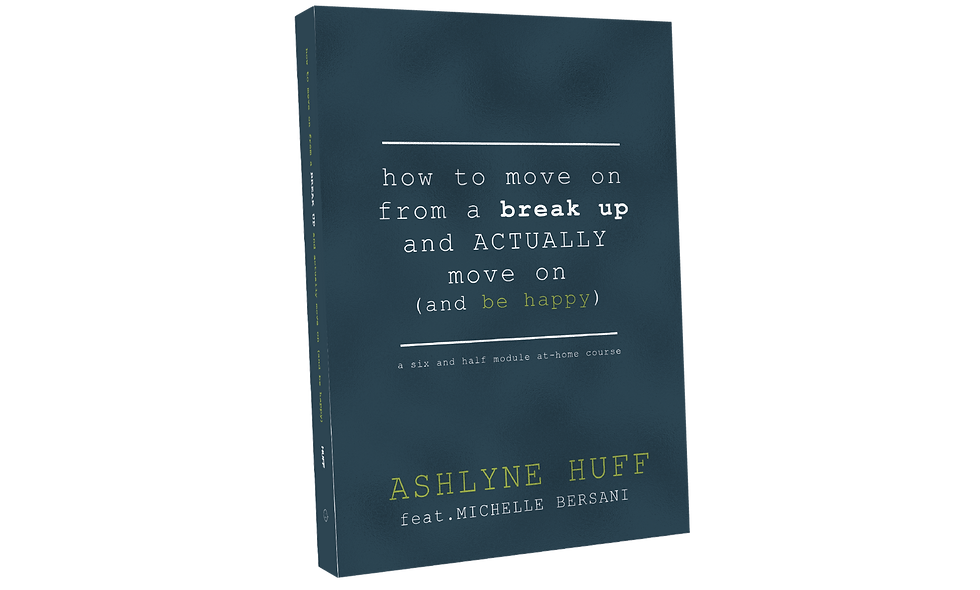 How To Move On From A Break Up And Actually Move On (and be happy) Workbook