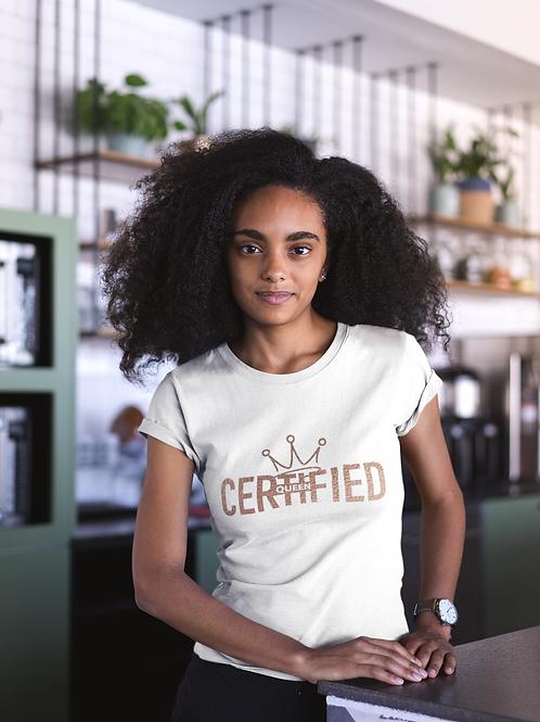 Certified Queen Tee Rose Gold