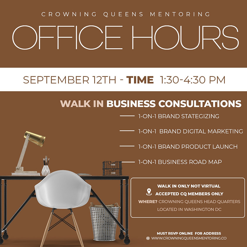 OFFICE HOURS (MEMBERS ONLY)