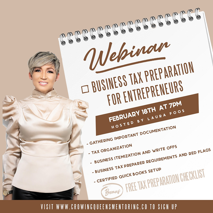 Business Tax Preparation for Entrepreneurs