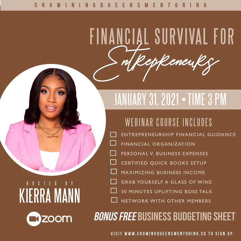 Financial Survival for Entreprenuers
