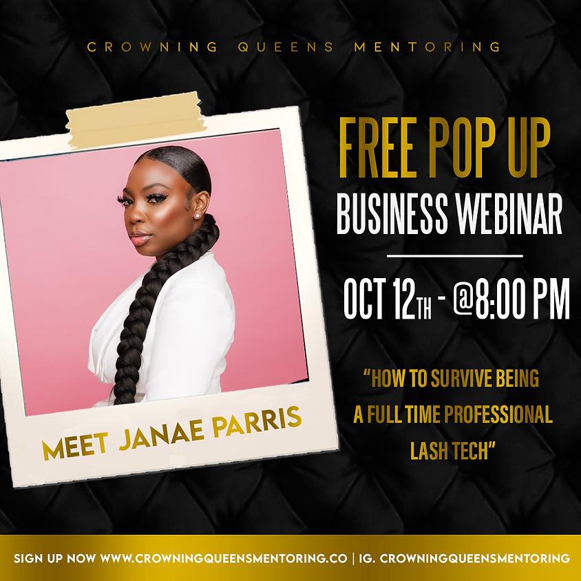 FREE Pop Up Business Webinar