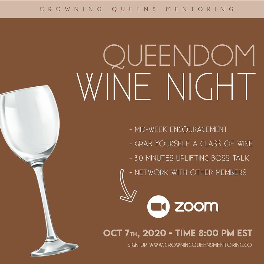 QUEENDOM WINE NIGHT (MEMBERS ONLY!!!!)