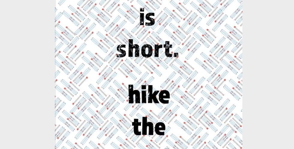 Hike The Bowl Postcard & Print