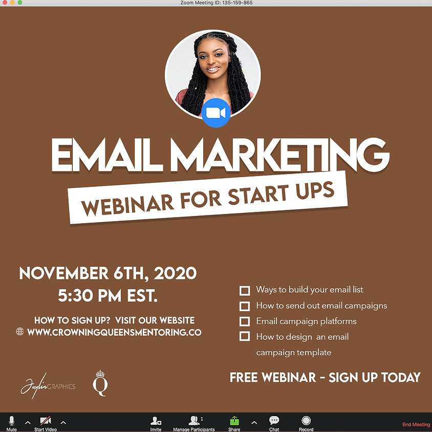 Email Marketing Webinar for Start Ups