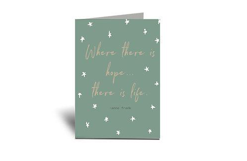 Hope Fertility 5x7 Greeting Card