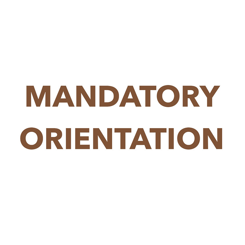 Virtual Orientation  Option 1 (Accepted Members ONLY)