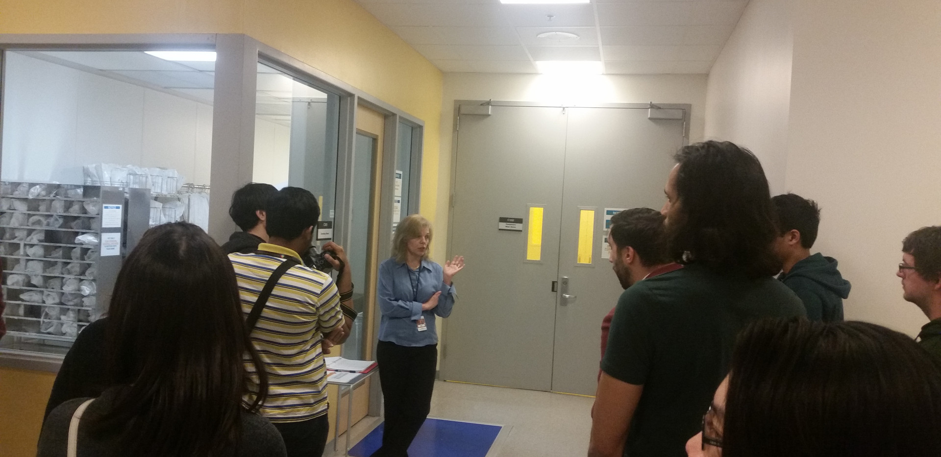 Tour of Center For Nanomaterials with Liliana Stan