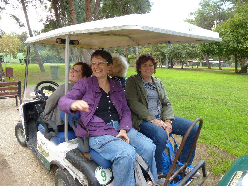 סיור ברכבי גולף בפארק הירקון