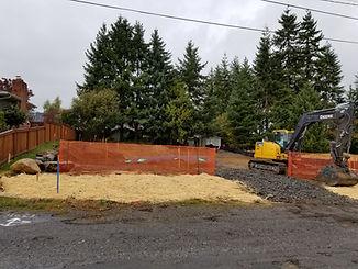 New house site prep