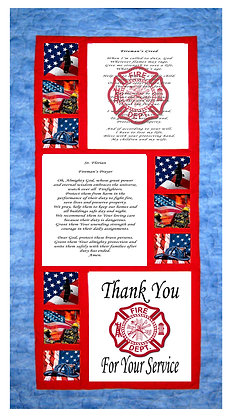 Fire Fighters Tribute Panels and Pattern Kit