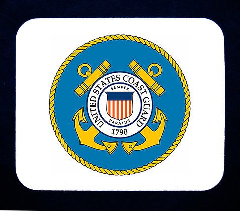 US Coast Guard Emblem Mousepad