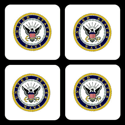 US Navy Coaster Set of 4