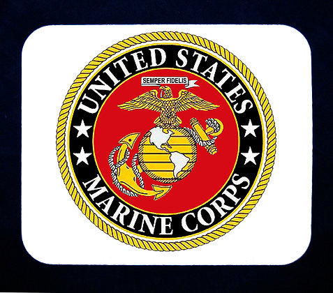 US Marine Corps Emblem Mousepad