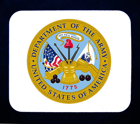 US Army Emblem Mousepad
