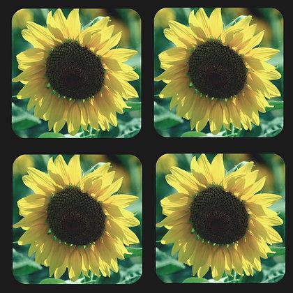 Sunflower Coaster Set of 4