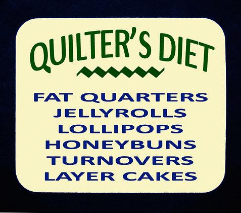Quilter's Diet Mousepad