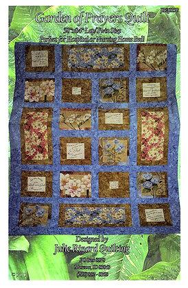 "Garden of Prayers Quilt Kit 58"" x 84"""