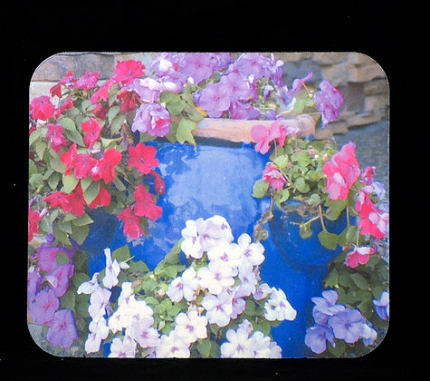 Decorative Flower Pot Mousepad