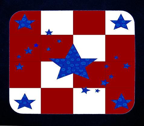 Patriotic Celebration Mousepad