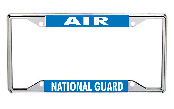 Air National Guard Every State License Frame