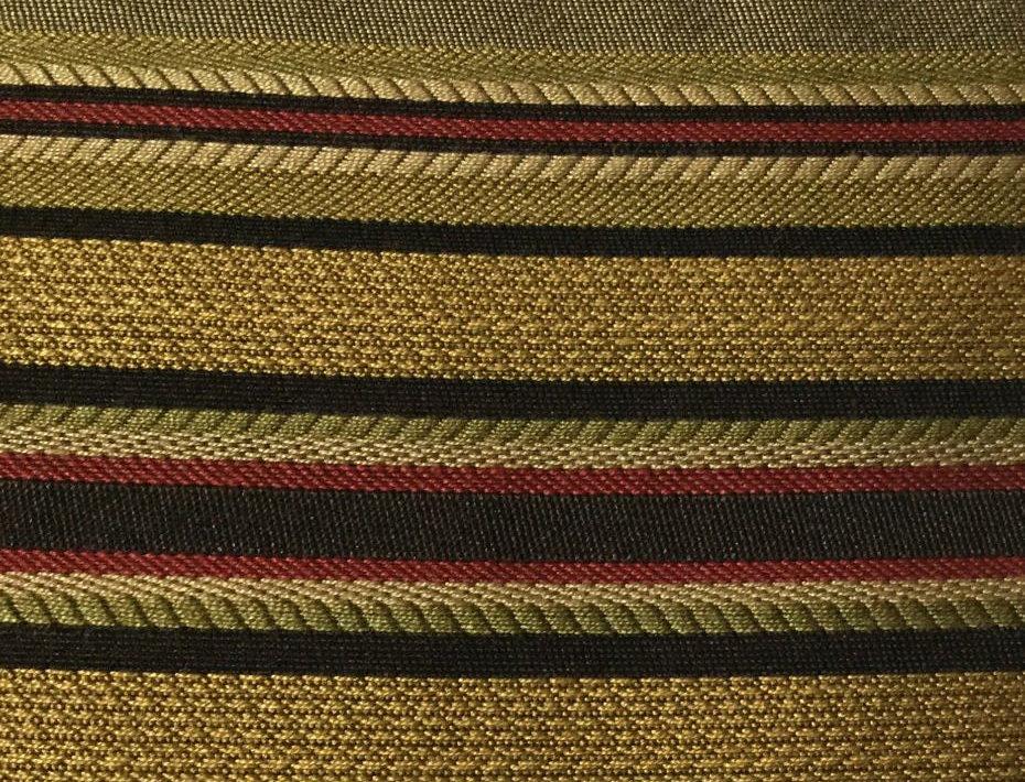 Red, Gold, Black, Green Stripe